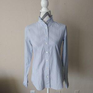 J crew button down down shirt